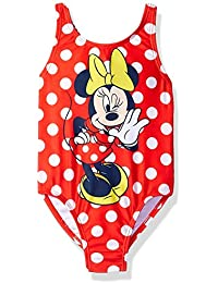 Toddler Girls' Minnie Polka Dot Swimsuit