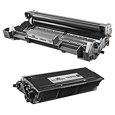 Speedy Inks - Compatible Brother TN580 TN-580 Toner DR-520 DR520 Drum Set 1 Toner 1 Drum for use in HL-5240 5250 5280 5250DN 5250DNT 5280DW 5200 5240LT 5250DNHY 5250DNLT 5270DN 5280DWLT 8065DN