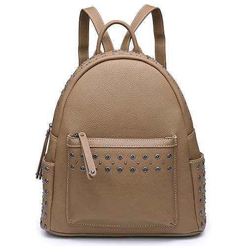 Tan Leather Backpack - 8