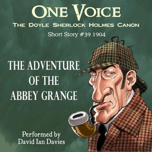 Bargain Audio Book - The Adventure of the Abbey Grange