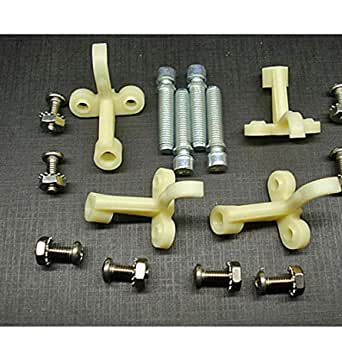Chevrolet GMC Chevy Truck Blazer Headlight Adjuster Screws Set of 8 Online Auto Supply Fits 1981-1987