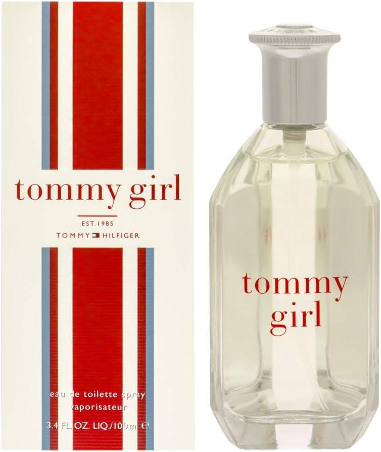 Tommy Hilfiger Tommy Girl Eau de Toilette para Mujer, 100 ml