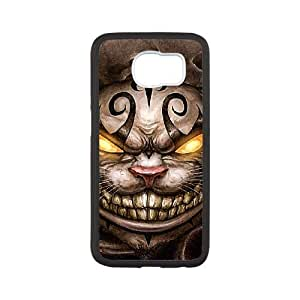 samsung galaxy s6 case, Alice In Wonderland-Cheshire cat Cell phone case for samsung galaxy s6 -PPAW8717955