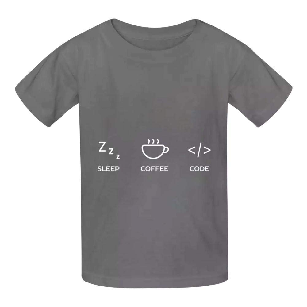 Funny Computer Nerd Childrens Comfortable and Lovely T Shirt Suitable for Both Boys and Girls