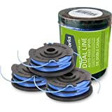 GreenWorks 29242 3-Pack Replacement Trimmer Dual-Line Spool for 21052 and 21212