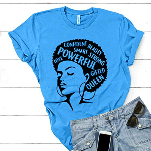 Manches Shirt Grande Base Courtes Crop Mode Femmes Arrondi D'été Casual Bleu T Col Moonuy Top Nouveau Imprimé De Lettre Blouse Taille Dessin Animé Rw5pTqnxI