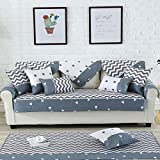 Royhom Sofa Protector Sofa Slipcover Keeps Furniture Safe from Kids Dogs Pets | Backrest and Armrest Sold Separately | Ripple 35'' x 94''