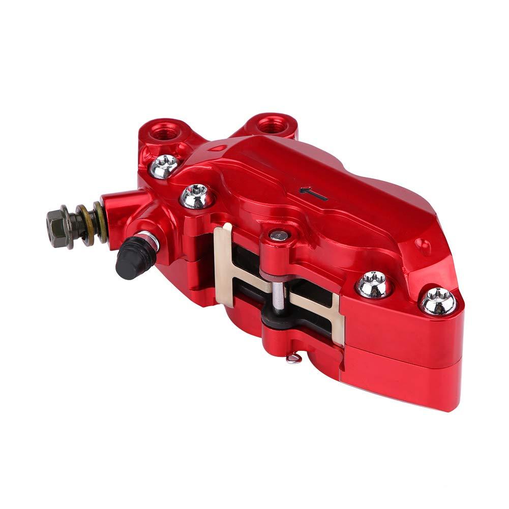 Rot KIMISS 9mm Motorrad Modifikation Vier Kolben Bremssattel