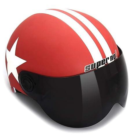 MJW Moto Harley Casco De Montaña Casco De Protección Solar Casco ...