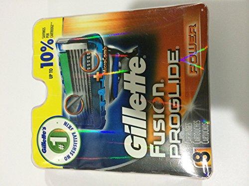 Gillette Fusion Proglide Power Refill Razor 5-Blade Cartr...