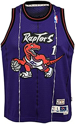 7c0aed7b350d Amazon.com   Outerstuff Tracy McGrady Toronto Raptors NBA Youth Throwback  1998-99 Swingman Jersey   Clothing
