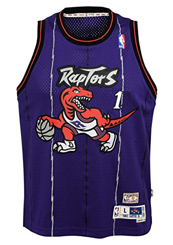 Outerstuff Tracy McGrady Toronto Raptors NBA Youth Throwback 1998-99 Swingman Jersey