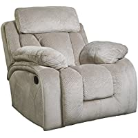 Ashley Furniture Signature Design - Stricklin Recliner - Contemporary Upholstered Reclining Couch - Pebble