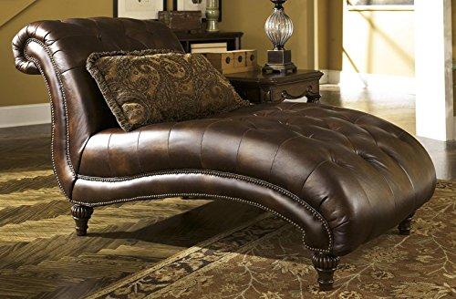 List price   879 99 Save  Ashley Furniture Signature Design   Darcy Love  Seat   Contemporary Style Microfiber Couch   Mocha. Ashley   ChaiseStore com
