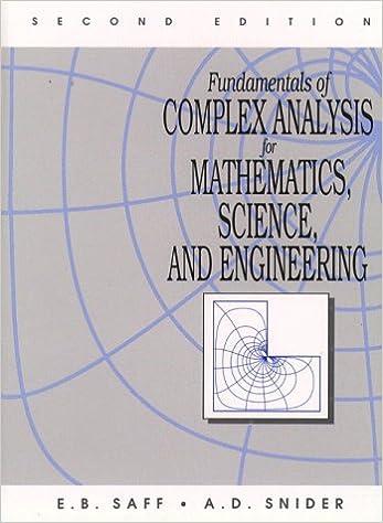 of complex analysis Fundamentals