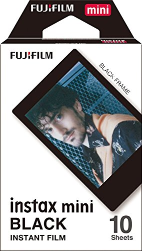 Fujifilm Instax Mini Instant Film BLACK FRAME 3-PACK BUNDLE