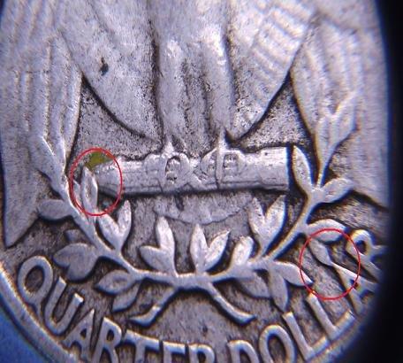 Almost Uncirculated 1957 Washington Quarter -- Rare Type B Reverse Die Variety! (Quarter Type Washington)
