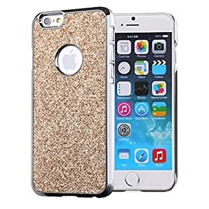 FJM Solid Color Glitters Shining Hard Case for iPhone 6 (Assorted Colors) , Gray