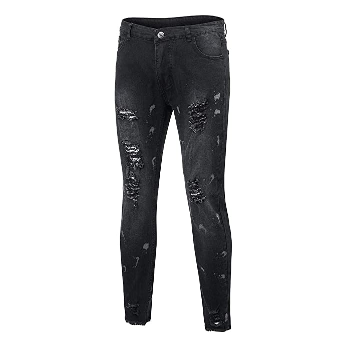 Seaintheson Mens Jeans, Men Skinny Stretch Denim Pants ...