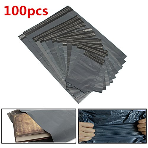 100pcs Poly Mailers Envelopes Shipping Packing Plastic Self Sealing Bags from EARTH SHOP