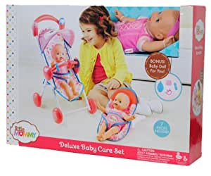 Amazon.com: Little Mommy Deluxe Baby Care Set with Doll