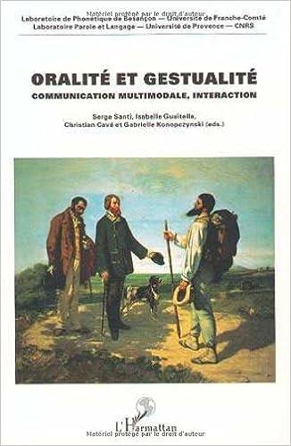 Livres gratuits Oralité et gestualité epub pdf