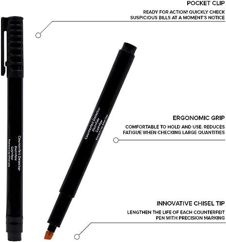 Amazon.com: Bolígrafos falsificados – Detector de dinero ...