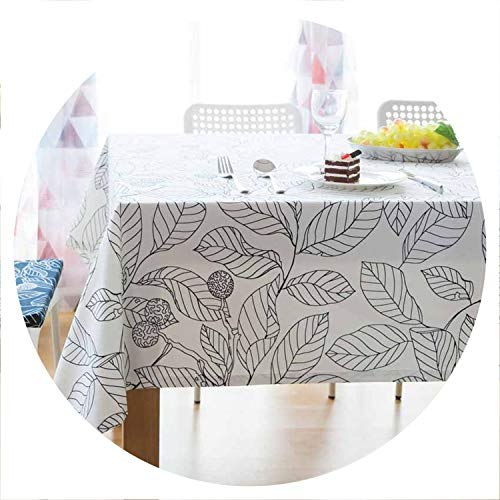 - God of Fortune Europe Leaf Seat Cushion Cover Placemat Background Cloth Table Runner Cover Tablecloths Decor Dustproof Manteles Toalha De Mesa,Color 1,Tablecloth 140x140cm