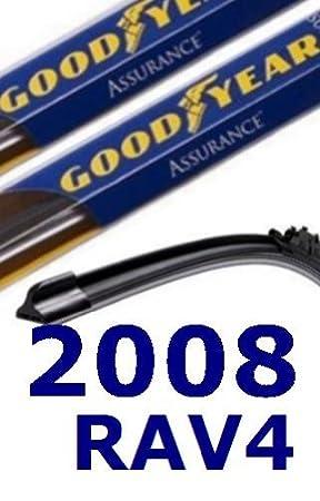 2008 Toyota RAV4 repuesto parabrisas limpiaparabrisas (2 cuchillas ...