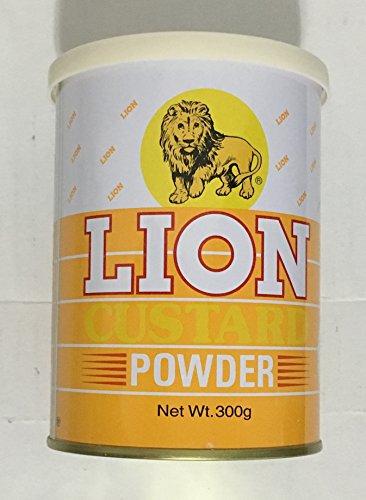 Custard Powder - 10.7oz [Pack of 3] by Lion