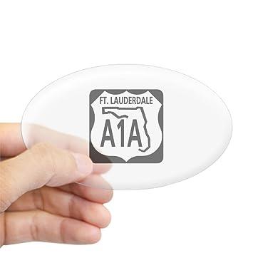 Amazon Com Cafepress A1a Fort Lauderdale Oval Sticker Oval