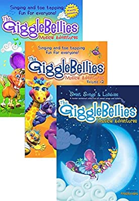 The GiggleBellies Musical Adventures Digital DVD Triple Set [Instant Access]