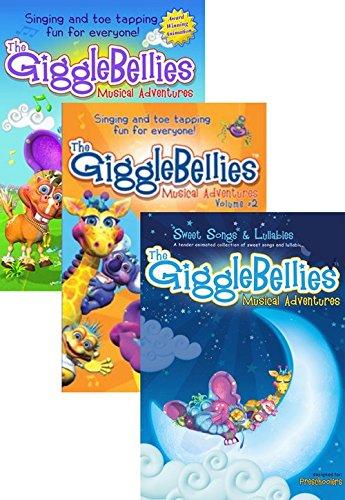 the gigglebellies musical adventures dvd volume 2