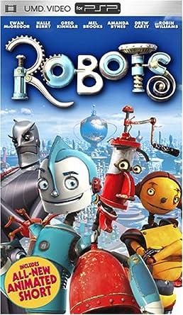 Amazon com: Robots [UMD for PSP]: Ewan McGregor, Halle Berry, Mel