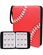 Double Sided 40 Pages 720 Pockets Sport Card Binder for Sport Trading Cards, Display Case with Sport Card Sleeves Card Holder Protectors Set for Baseball Football and Basketball Cards