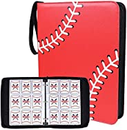 Double Sided 40 Pages 720 Pockets Sport Card Binder for Sport Trading Cards, Display Case with Sport Card Slee
