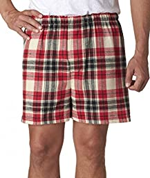 Boxercraft Adult Classic Flannel Boxers - Redwood - M