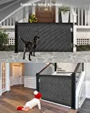 Retractable Baby Gate Dog Gate - Wiscky Extra Wide