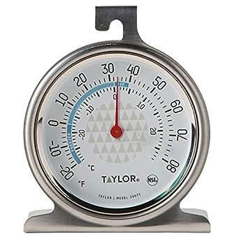 Taylor 3507 TruTemp - Termómetro analógico para frigorífico ...