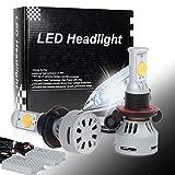 04 f250 power steering - Partsam 2pcs H13 2-Cree-MTG2 3000K White 3200LM High Power LED for Headlight