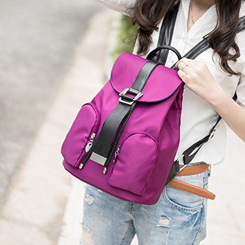 CoCogirls - Bolso mochila  de Otra Piel para mujer Rose