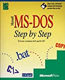 img - for Microsoft MS-DOS Step by Step: Covers Versions 6.0 and 6.2 book / textbook / text book