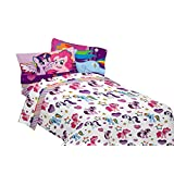 My Little Pony Sheet Set - Featuring Rainbow Dash, Pinkie Pie, Rarity & Twilight Sparkle (Twin)