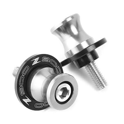 Di/ábolos Moto Basculante Bobina de Deslizadores Tornillo del Soporte M8 8mm CNC Aluminio para Kawasaki Z650 Z900 2017 2018 2019