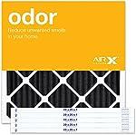 AIRx ODOR 20x20x1 MERV 8 Carbon Pleated Air Filter - Made