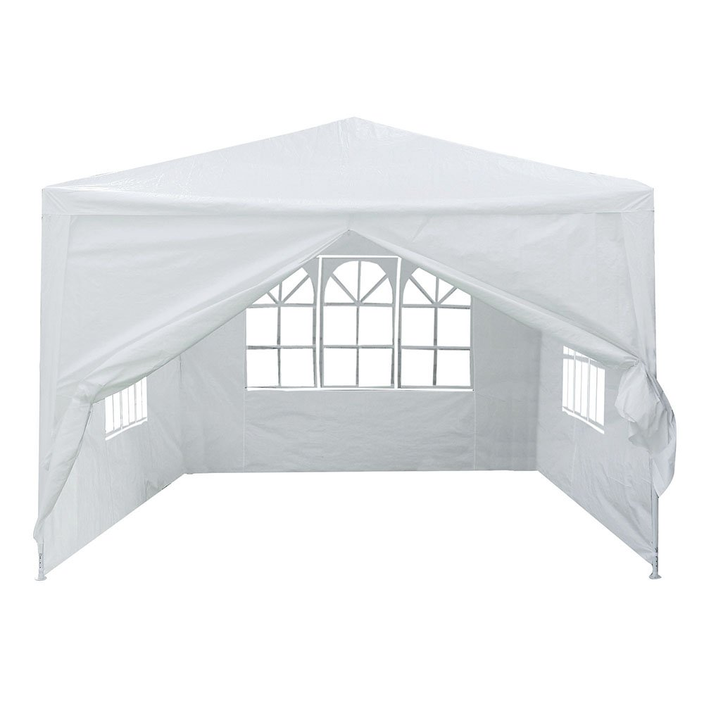 Yescom 10x10' White Outdoor Wedding Party Patio w/Removable Side Wall Canopy for Fetes Event by Yescom (Image #4)