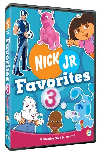 Nick Jr. Favorites - Vol. 3 (Lazytown Nick Jr)