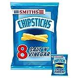 Smiths Chipsticks Salt & Vinegar Snacks 17g x 8 per pack