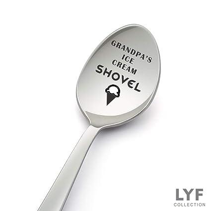 Amazon Grandpas Ice Cream Shovel Spoon Best Grandpa Gift From