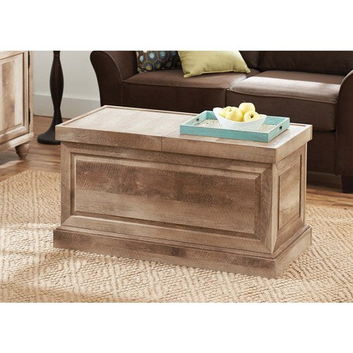Better Homes and Gardens Crossmill Collection Coffee Table, Weathered from Better Homes & Gardens